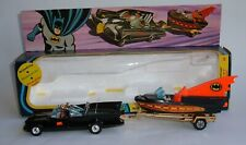 Corgi Toys Gift Set No. 3, Batmobile and Batboat, - Superb Near Mint Condition.