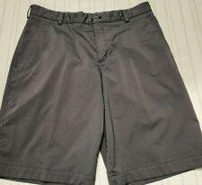 Mens Nike Golf  Dri-Fit   Shorts Size 34 Black / gray