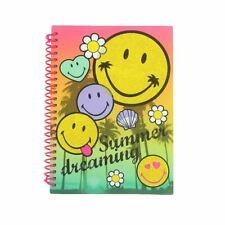 Smiley World Summer Dreaming A5 Notebook Pad Journal Exercise Book