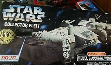 Rebel Blockade Runner 1996 Star Wars Collector Fleet NIB 5+ Electronic