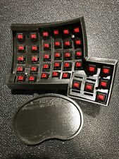Dactyl Ergodox keyboard - assembled with Cherry MX RED switches, no keycaps