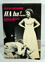 1982 Vintage French Book Rejean Ducharme Ha Ha! Quebec Edition