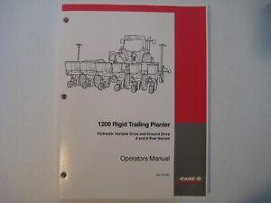 New Case IH 1200 Rigid Trailing Planter Operator's Manual 6-6484