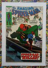 AMAZING SPIDER-MAN #90 - NOV 1970 - DEATH OF CAPT STACY! - VFN+ (8.5) PENCE COPY