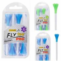 Champ Fly Tees Pro Golf Tees 69mm 2 3/4 Kevlar Infused Biodegradable Green/White