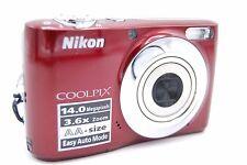 Nikon Coolpix L24 14.0Mp 3'' Screen 3.6X Digital Camera (No Battery)