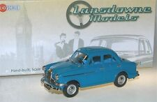 Lansdowne Models/Brooklin LDM 77a - 1957 Riley 1.5 Saloon blue white metal 1/43