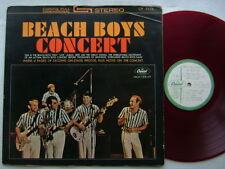 TEST PRESS RED VINYL / THE BEACH BOYS CONCERT / JAPAN