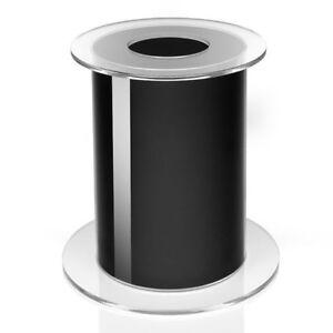 biOrb Aquarium Stand 105 Black/White Tank Display Acrylic Modern Unit 48720 Oase
