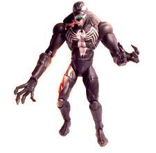 "MARVEL Comics Spiderman Large 10"" VENOM poseable Comic style villain figure"