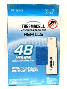 Thermacell Mosquito Repellent Refills, 48-Hour Pack