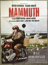 Affiche MAMMUTH Yolande Moreau GERARD DEPARDIEU Benoit Delepine 120x160cm
