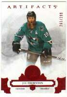 2017-18 Upper Deck Artifacts Ruby Parallel /299 #64 Joe Thornton Sharks