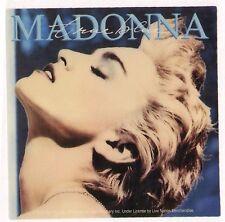 STICKER Madonna True Blue ( boy toy 2009 ) licensed stop buying bootlegs