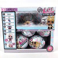 LOL Surprise Winter Disco Glitter Globes L.O.L. Dolls Full Case 10 Count New