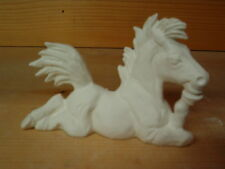 FARM Horse WITH ATTITUDE READY TO PAINT CERAMIC BISQUE