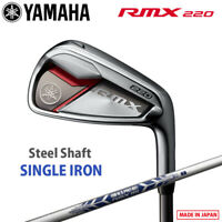 2020 Yamaha Golf Japan RMX 220 Single Iron (#5 / Aw / Sw) NSPRO RMX Steel Shaft