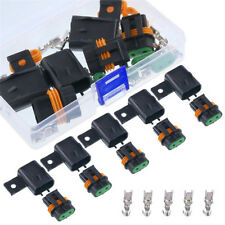 5PCS Waterproof Fuse Holder Assembly Splice Existing Wire Kit for ATO ATC fuses