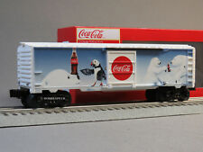 LIONEL COCA COLA VINTAGE POLAR BEARS BOXCAR O GAUGE train coke pop 6-84615 NEW