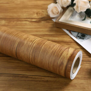 Peel and Stick Wood Wallpaper Contact Paper Film Home Decor