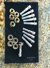 (120pcs) 8mm Assembly Chrome Bolts For 2 And 3 Piece Wheels