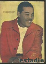 Estadio Magazine Joe Louis USA Boxer On Cover 1947