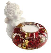 Angel Lucy II Christmas Berries Dreamlight Tealight Tealight Holder - 20352B