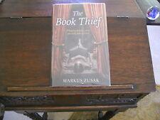 THE BOOK THIEF, Markus Zusak, SIGNED & DOODLED, 1st/1st UK 2007 Bodley Head ed.