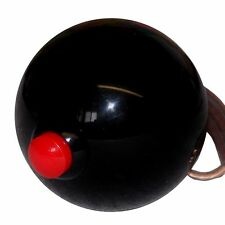 Black 12V SIDE Button Shift Knob for line loc roll, NOS Note a thread size