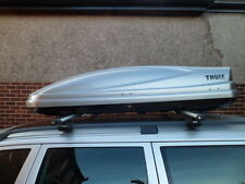 THULE ATLANTIS 780 SILVER ROOFBOX FOR HIRE / RENT £35 per week (Min Hire 7 days)