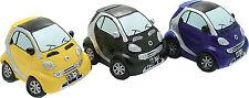 Salvadanaio Automobile Smart NERO cm 14x12 h10 Resina