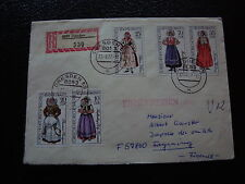 ALLEMAGNE RDA lettre 23/6/77 - timbre stamp germany (cy1)