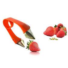 Strawberry Stem Leaves Huller Remover Removal Fruit Corer Kitchen Gadgets Tool