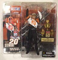 TONY STEWART Series 1 Action Figure McFarlane Toys NASCAR NIP 2003