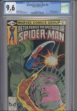 Spectacular Spider-Man #42 CGC 9.6 1980 Marvel Statue of Liberty: New Frame