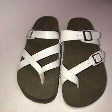 Madden Girl Sandals Slide On Thong Womens Size 7M NEW With Defects