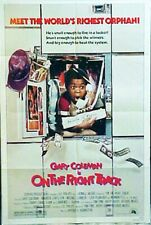 ON THE RIGHT TRACK - with Gary Coleman, Norman Fell -1981 western movie poster