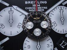 BREITLING NAVITIMERE CHRONOMETRE BLACK & GOLD DIAL/LUME /N/R