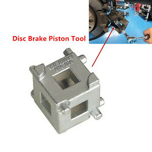 "Rear Brake Disc Piston Caliper 3/8"" Caliper Rewind Tool Wind Back Cube Adaptor"