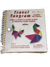 Travel Tangram 240 Puzzles Book Road Trip Game