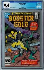 BOOSTER GOLD (1985 Series) #1 - CGC Graded 9.4 - White Pages