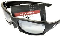 NEW OAKLEY FIVE SQUARED SUNGLASSES | Black Frames w/ Iridium Polarized Lenses