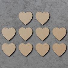 CUORE Bunting x10-estate matrimonio in legno Craft Bunting spazi e segni