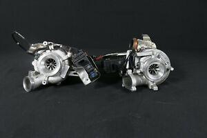 15TKM Audi SQ7 S Q7 4M 435PS V8 Tdi Turbocharger Left+Right