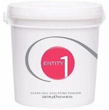 Entity Beauty - Nail Acrylic Sculpting Powder  *CLEAR* -  5 Lbs/2267.96g Bucket