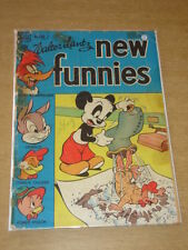 NEW FUNNIES #145 FR (1.0) ANDY PANDA WOODY WOODPECKER DELL COMICS MARCH 1949 <