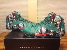 """Nike Lebron XII """"Xmas"""" Sz 12"""