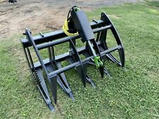 48 Skid Steer Or Compact Tractor Brush Grapple With Replaceable Teeth