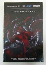 Prometheus Aliens Predator COMPLETE LIFE AND DEATH HC Sealed NEW Dark Horse OOP