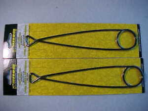 """2 NEW 9 """" FISH mouth spreader jaw  HT DELUXE STEEL SPREADERS NORTHERN MUSKIE"""